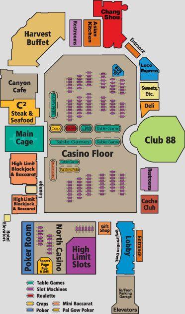 Cache Creek Casino Resort Casino Layout Cache Creek