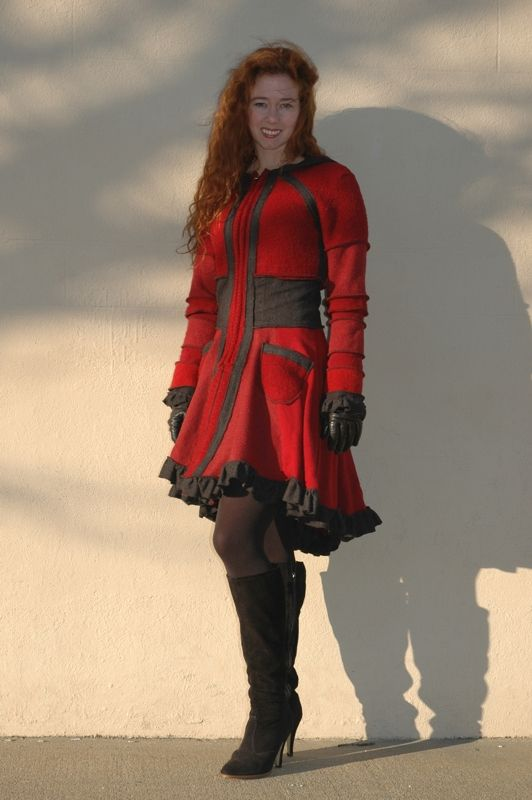 Red coat I made