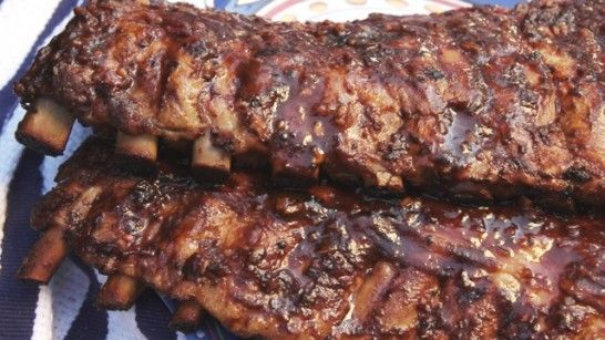 Honey Chipotle Ribs from Pati's Mexican Table...will have to try these!