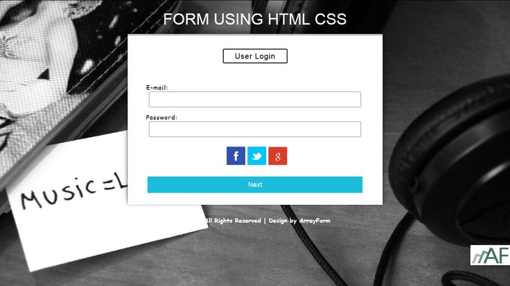 12 Best Login Form Templates Use Html5 Css3 Images On Pinterest