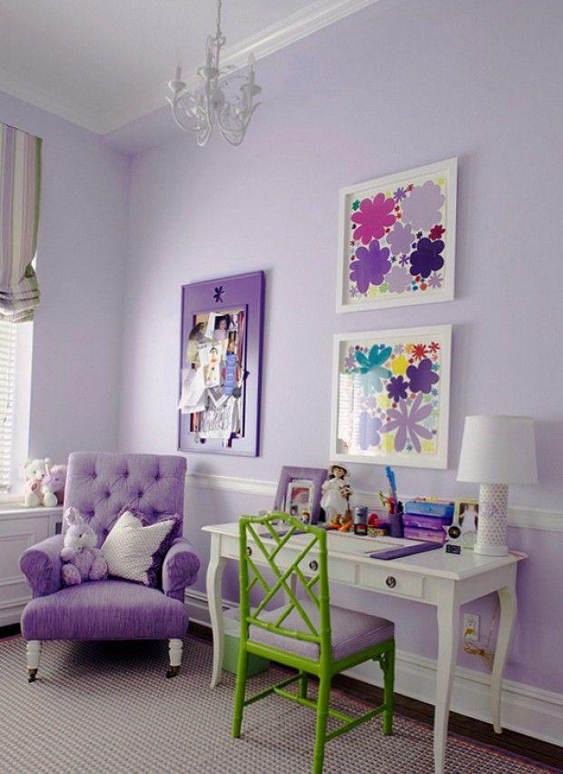 Детская комната в бирюзовых тонах