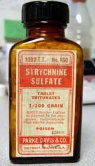 The preferred murder weapon of London's Lambeth poisoner, aka Dr. Thomas Neill Cream of McGill University.