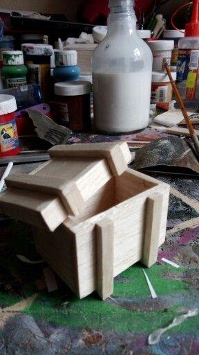 Mini caja madera
