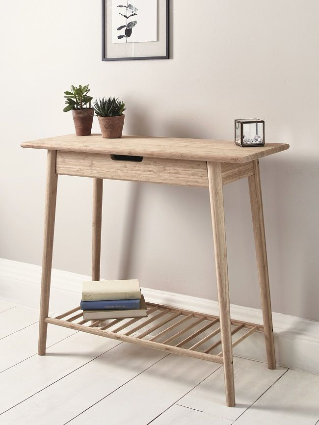 scandinavian style dining room furniture, console table