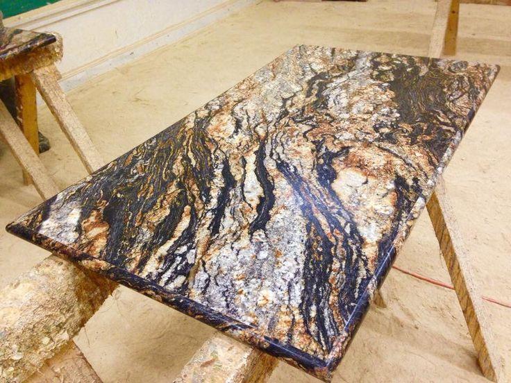 Magma Black Bullnose Ideal Edge Island Countertop Formica