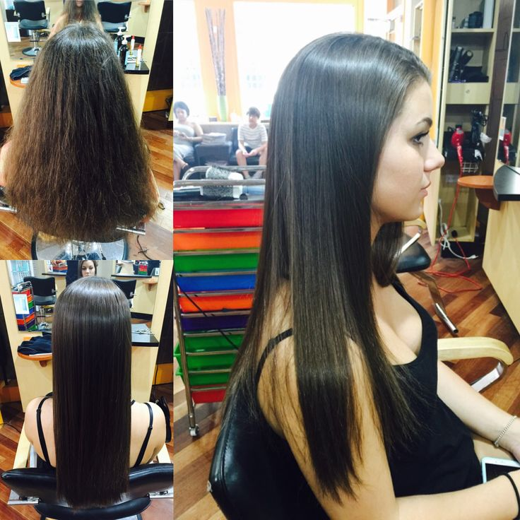 Keratin treatment before and after get silky smooth for Salon kerat in