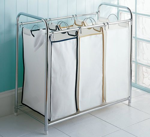 Triple Laundry Sorter. This one is the most attractive