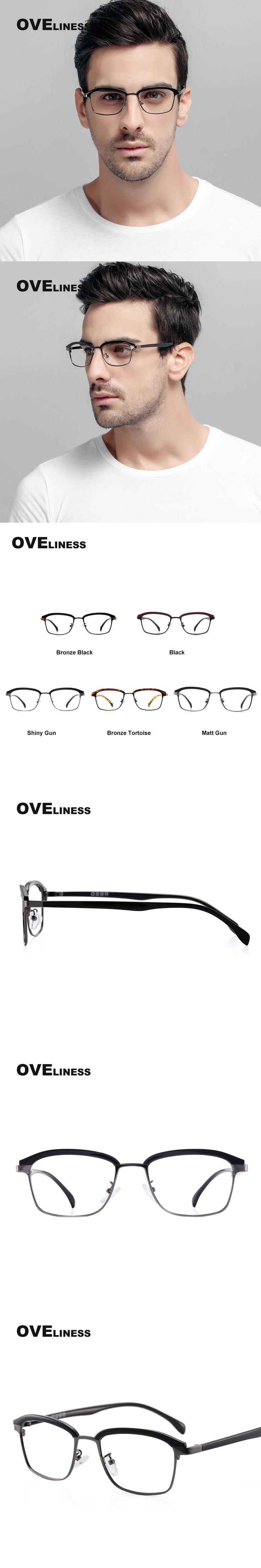 TR90 Eyeglasses Frames Man Optical Half Frames for Women Reading Glasses Clear Lens myopia Prescription spectacle frame eyewear