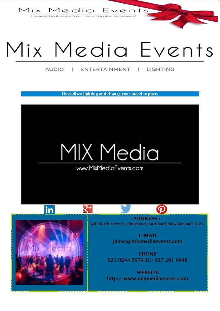 are you looking for best disco lighting for your wedding party or Birthday party for rent or sale are available at mix media events in auckland region