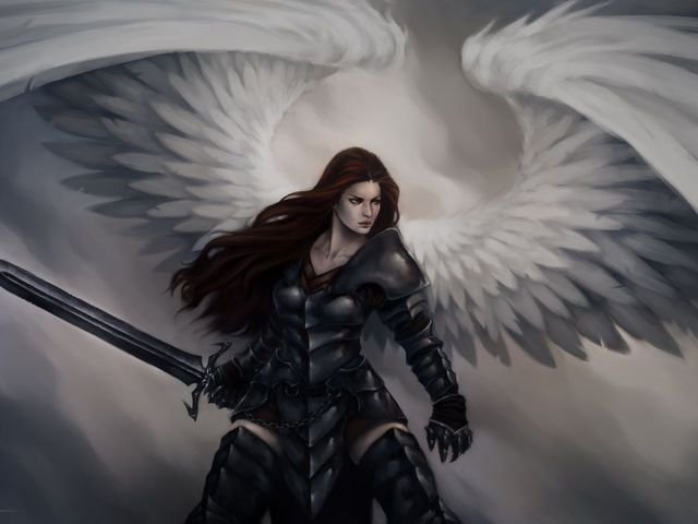 Selfie in history!! Guys! I'm apparently a warrior angel, took the quiz, comment below what y'all are