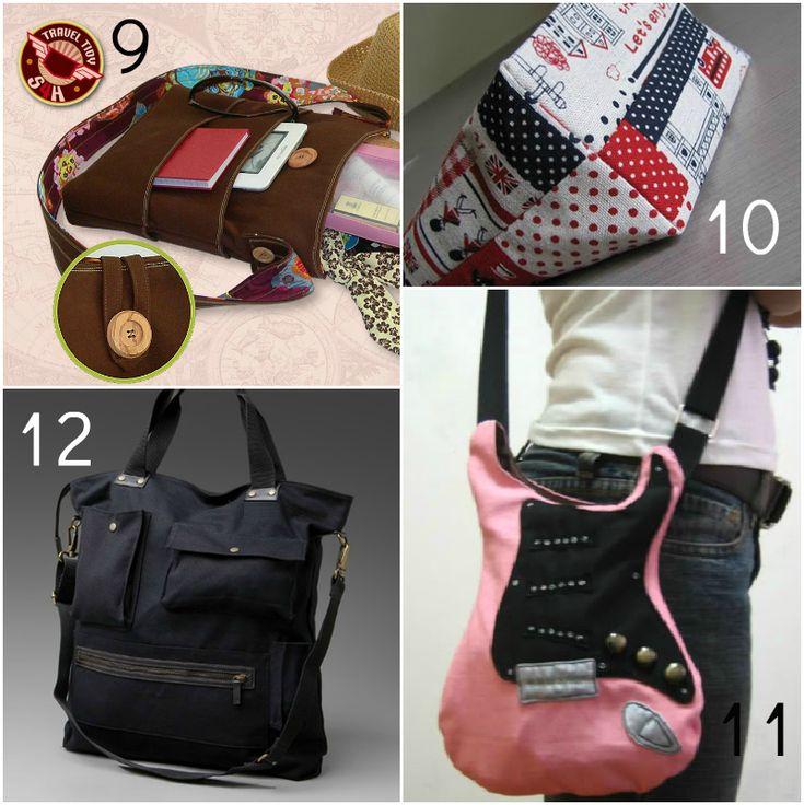 13 Best Project Bag Patterns Images On Pinterest Backpacks Sew