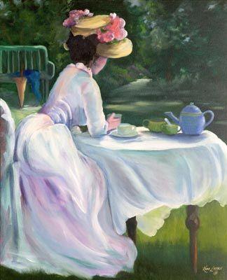 I giardini segreti: il tè nell'arte