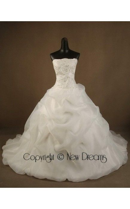 -wedding Dress ball Gown style V1014