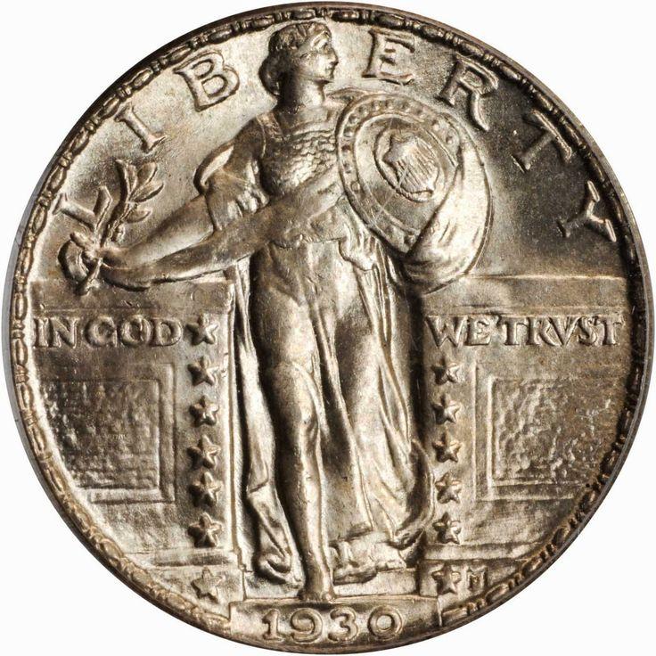 US Coins 1930 Standing Liberty Quarter Dollar