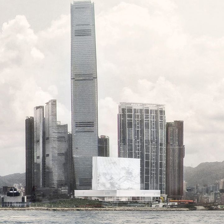 M+ museum . Hong Kong . Herzog & De Meuron