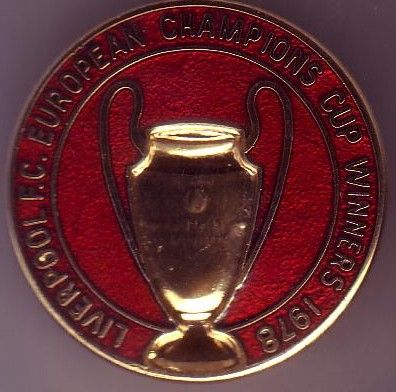 Liverpool FC European Champs CWC 1978 Pin