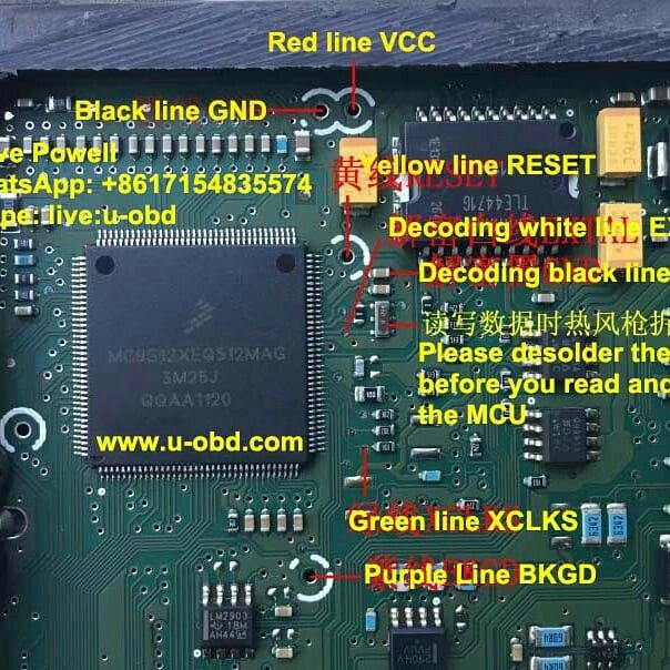 Wiring Diagram For VVDI PROG Read Delphi MT22.1