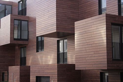 Fachada ventilada de madeira – PRODEX – ArchiExpo   – Facade Architecture