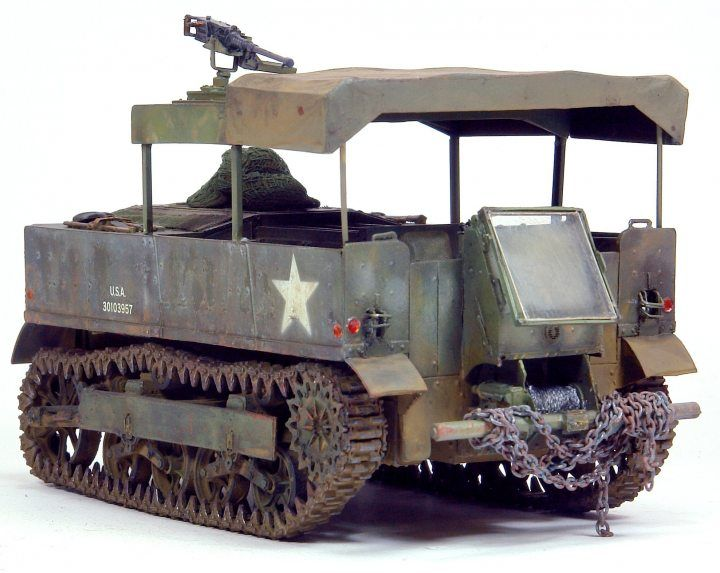 Hobby Fan M5 High Speed Tractor 1/35 scale
