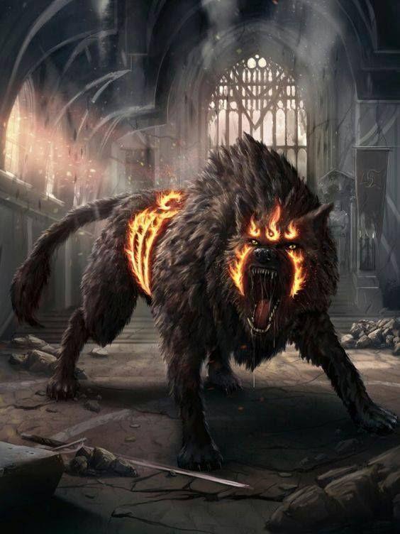 Linkarus, dizem as lendas que esse lobo vem direto dos planos inferiores para levar alguém ao comando do necromante. Também chamado de lobo infernal, não apara até ser morto ou cumprir seu objetivo
