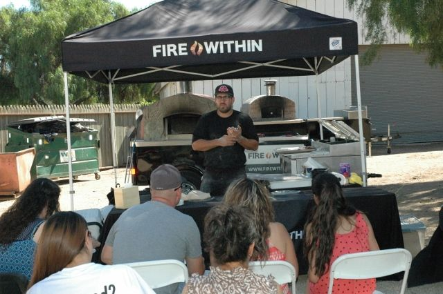 The Spicy Pear - a pizza recipe demonstrated in our Forno Bravo EXPO 2015