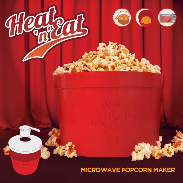 Mustard Heat 'n' Eat - Popcornmaker
