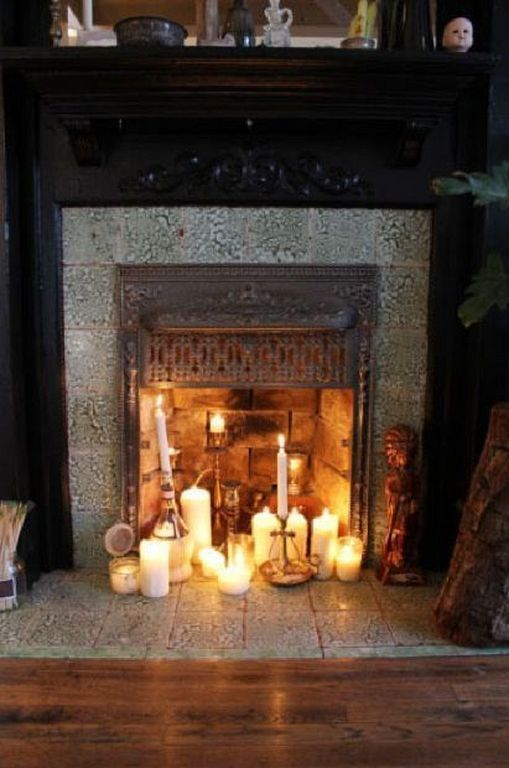 20 Best Romantic Candle Fireplace Decor Ideas Candles In