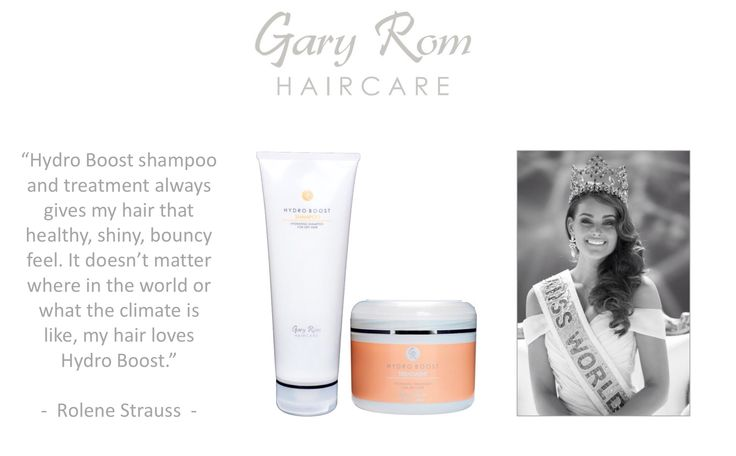 Gary Rom Haircare - as used by Miss World 2014 Rolene Strauss