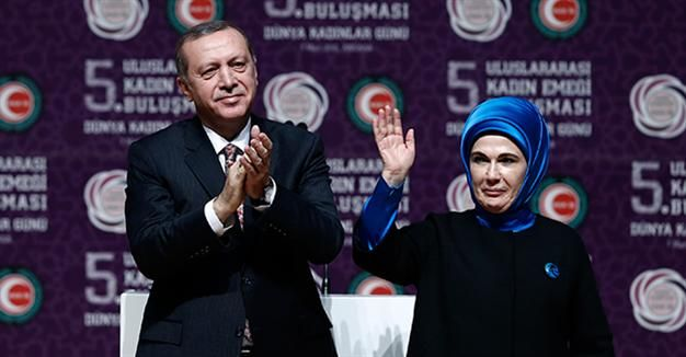 """President Erdoğan has declared the country should develop its own unique values of gender equality, finding inspiration from his will to have a new constitution which will pave the way for an authentic """"Turkish-style"""" presidential system"""