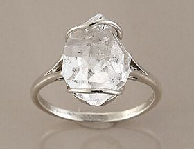 Herkimer Diamonds. For Bright Winter Flamboyant Naturals.
