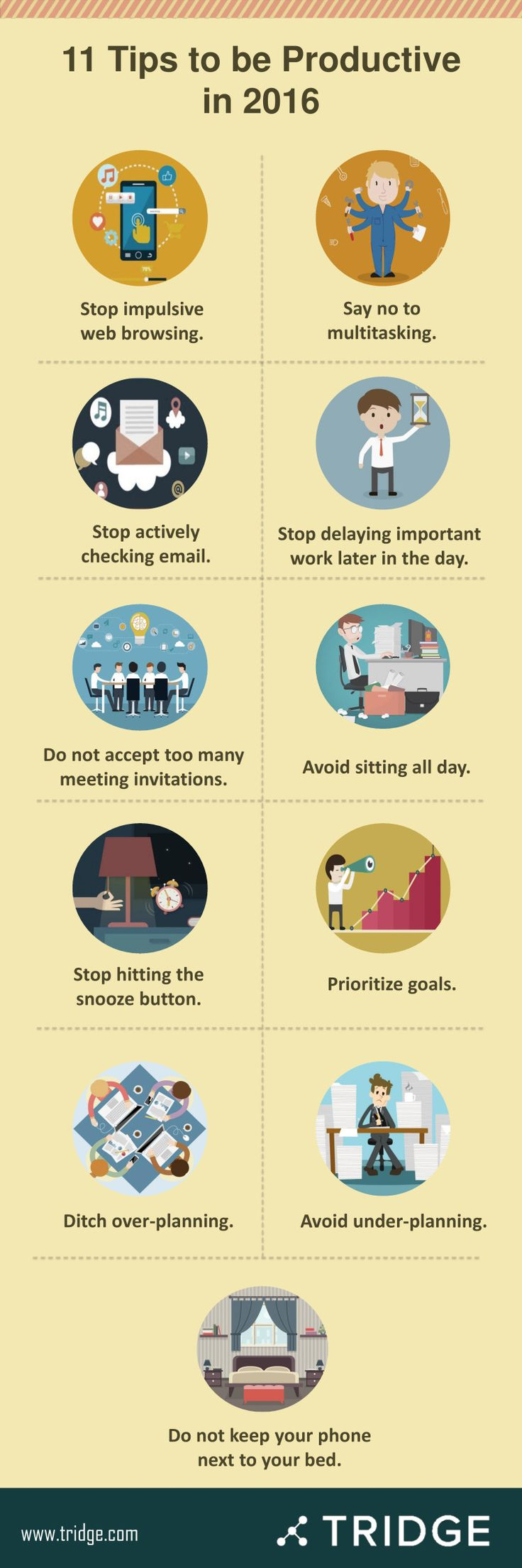 11 Tips to be Productive in 2016