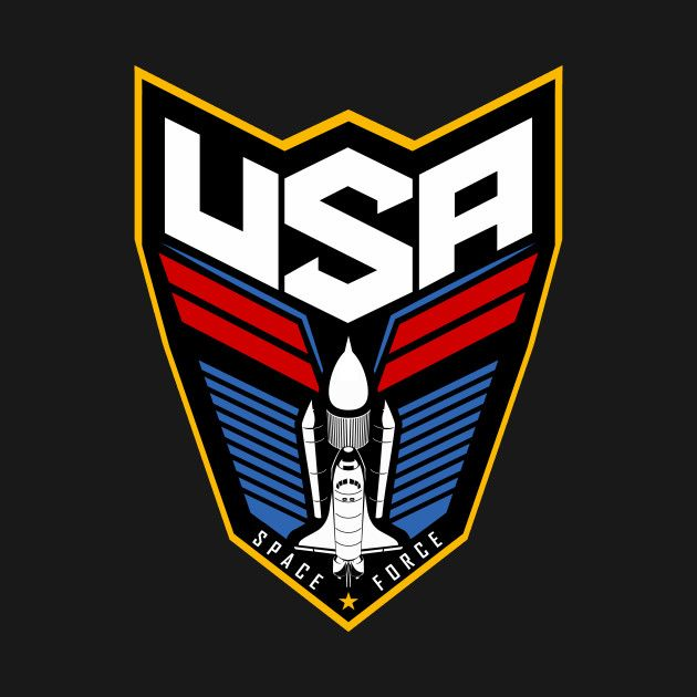 2a895e88e4c Check out this awesome  United+States+Space+Force  design on  TeePublic!