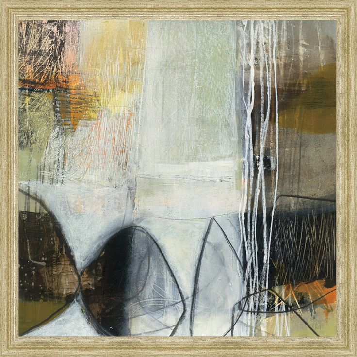 Jane davies poster print wall art print entitled abstract pebble i none