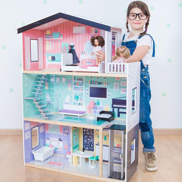 23 best casas de mu ecas images on pinterest doll houses - Casa munecas eurekakids ...