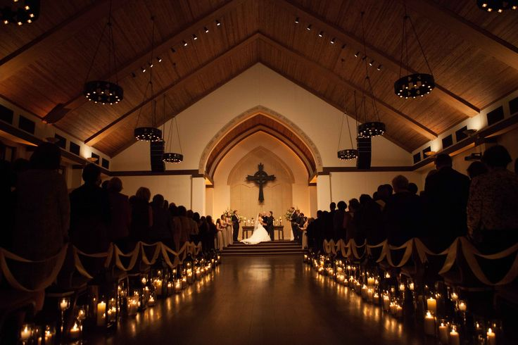 candlelight wedding ceremony | In the words of the bride: -vendor love- (plus all the AWESOME stuff ...