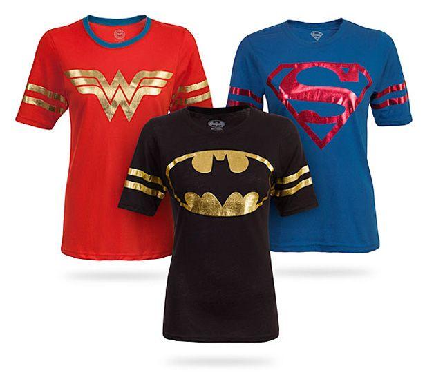 Lindas blusas de Superhéroes