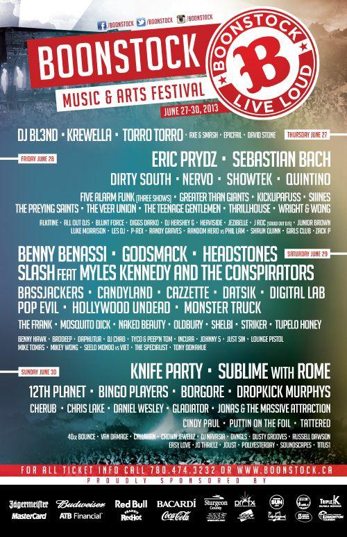 #Boonstock #Festival 2013 http://boonstock.ca/