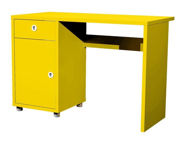 Vrolijk jezelf op met dit kleurrijke bureau en ga met een glimlach aan de slag. Het Bureau Box is verkrijgbaar in vrolijke kleuren zodat jij een gezellige werkplek voor jezelf kunt creëren. Dankzij de kleur en het compacte ontwerp staat dit bureau leuk in je woonkamer, werkkamer en kinderkamer. Het Bureau Box is gemaakt van spaanplaat dat perfect is afgewerkt met een matte lak. Het bureau hoort bij de meubelserie Box van het meubelmerk Tenzo. Zo kun je dit kleurrijke bureau bijvoorbeeld met…