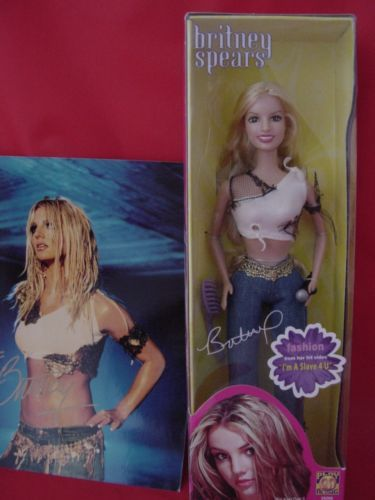 Britney Spears Doll Slave 4U and Signed 8x10 Color Photo w COA EXC | eBay