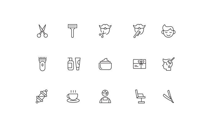 "Icons ""Barbershop"""