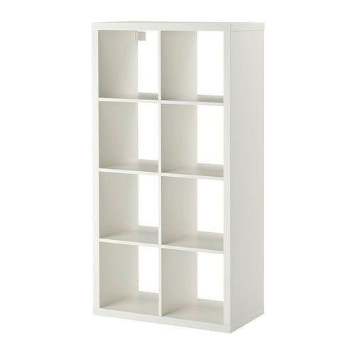 IKEA KALLAX SHELVING UNIT, 8 SHELVES, COLOURS (FREE UK P&P) £62.99 vs IKEA £74.00