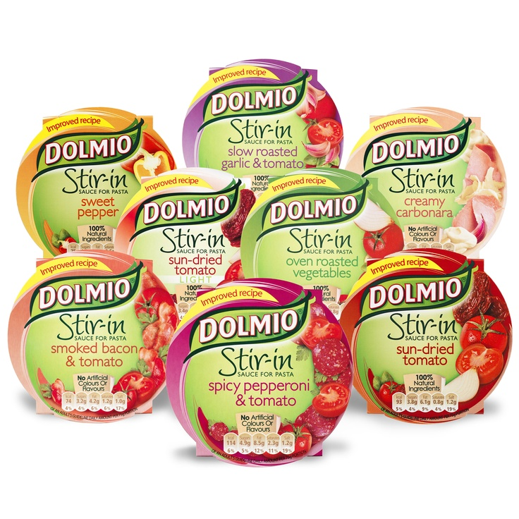 Dolmio Stir In Sauces - No artificial flavours, colours or preservatives