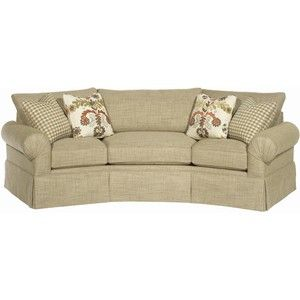 Charming Paula Deen Home Casual Conversation Sofa With Skirt By Paula .