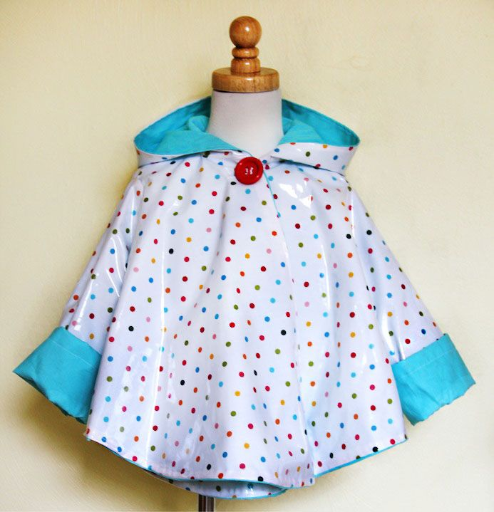 How to Sew a Raincoat | Prudent Baby