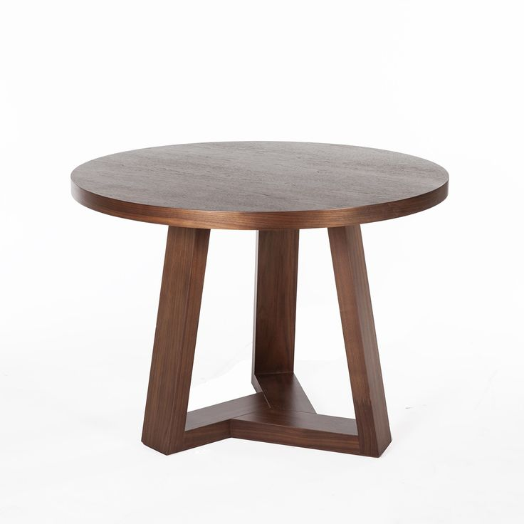 The Gusta Round Wood Dining Table - Contemporary Modern Dining Table  http://www.franceandson.com/mid-century-modern-gusta-round-wood-dining-table.html