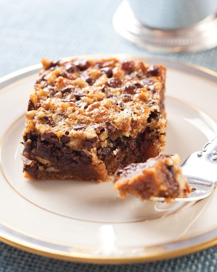 Kentucky Derby Pie Bars - Southern Lady Magazine