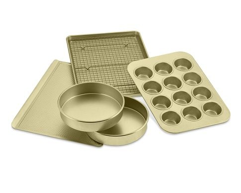 William Sonoma GOldtouch nonstick bakeware.: Nonstick 6 Piece, Goldtouch Nonstick, Essentials Bakeware, Williams Sonoma Goldtouch, Williamssonoma, 6 Piece Essentials, Baking, Products