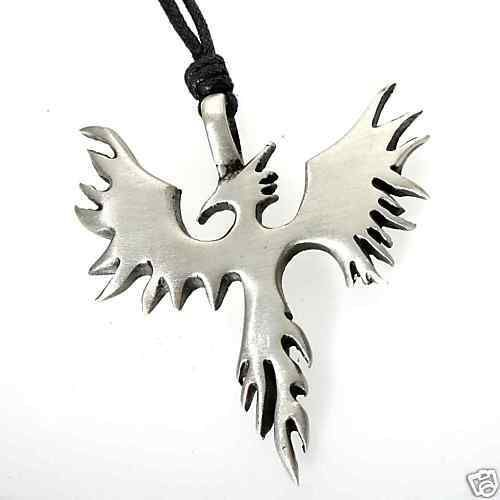 167 best wishes little cheap things images on pinterest cheap 52h silver pewter fire bird phoenix pendant necklace aloadofball Images