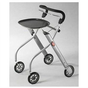 """Surprise: this is ALSO the """"Let's Go"""" by Drive Medical. 6"""" Casters. This description may not be accurate on this fluhshluggineh site, as it describes a """"carry pouch."""" W: 21.65""""; One-handed rollator wheeled walker $384 sku is 221046037 http://www.rakuten.com/prod/let-s-go-aluminum-indoor-rollator/221046037.html?listingId=290425163&scid=pla_google_PhillipsNaturals&adid=18170&gclid=CIDO2tbRyb0CFfNxOgodDlwAkQ"""