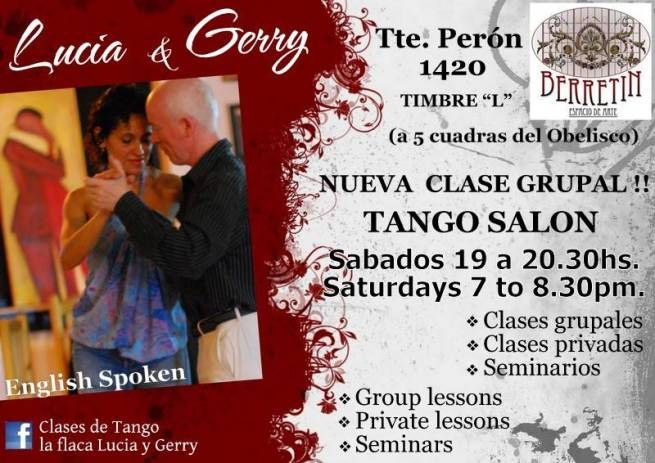 Lucia y Gerry class Berretin